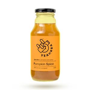 Yeahrba - Pumpkin Spice, 330 ml EXPIRACE do 31.5.2021 (Doprodej z důvodu zařazení nových letních příchutí).