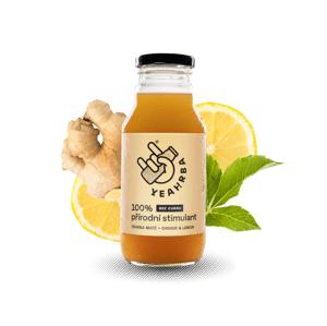 Yeahrba - Ginger & Lemon, 330 ml
