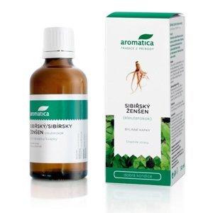 Aromatica Sibiřský ženšen bylinné kapky 50 ml