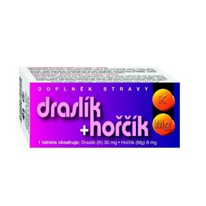 Naturvita Draslík + hořčík 60 tablet