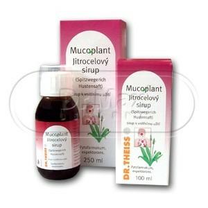 Mucoplant sirup proti kašli s jitrocelem a medem 100 ml