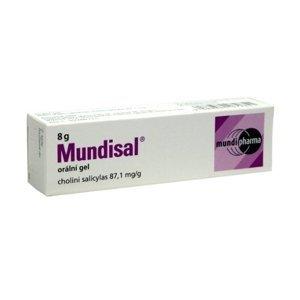 Mundisal orální gel 8 g