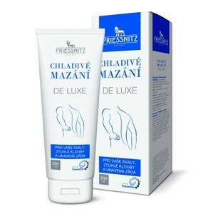 Priessnitz De Luxe chladivé mazání 200 ml