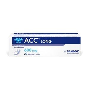 ACC LONG 600 mg 20 šumivých tablet
