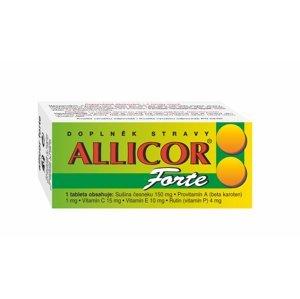 Naturvita Allicor Forte česnek+C+E+P+BETA 60 tablet