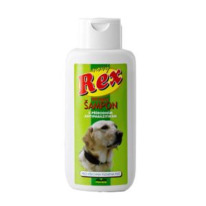 Rex Bylinný šampon s antiparazitní přísadou pro všechna plemena psů 250 ml
