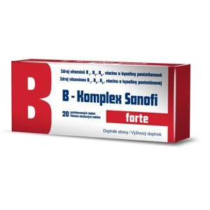 B-Komplex Sanofi forte 20 tablet