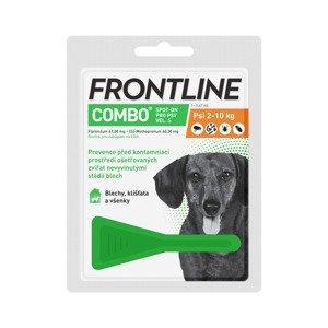 Frontline COMBO Spot on Dog S 0.67 ml 1 pipeta