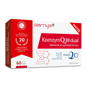 Barny´s Koenzym Q10 Dual 60 mg limitovaná edice 60 kapslí