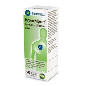 Bronchipret tymián a břečťan sirup 50 ml