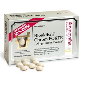 Bioaktivní Chrom FORTE 100mcg 60 + 30 tablet