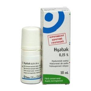 Hyabak 0,15% oční kapky 10 ml