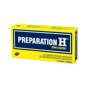 Preparation H 12 čípků