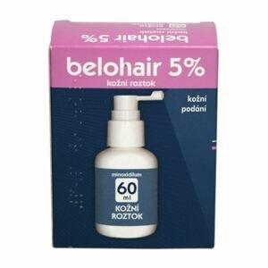 Belohair 5 % kožní roztok 60 ml