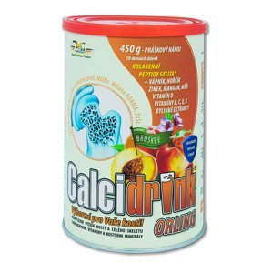 Calcidrink broskev nápoj 450 g