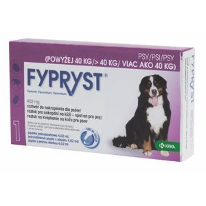 Fypryst Spot-on XL pes nad 40 kg 1 pipeta