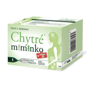 Chytré miminko methylfolát 1 60 tablet