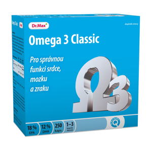 Dr.Max Omega 3 Classic 250 kapslí