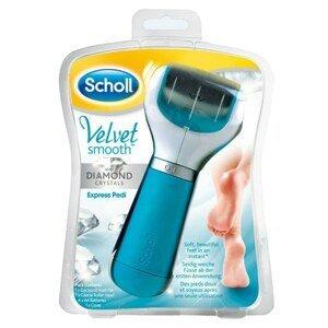 Scholl Velvetsmooth Elektrický pilník na chodidla modrý