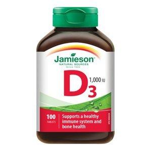 Jamieson Vitamin D3 1000 IU 100 tablet