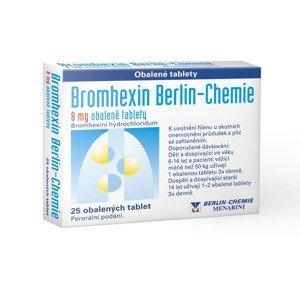 Bromhexin bc 8 Berlin-Chemie 25 tablet