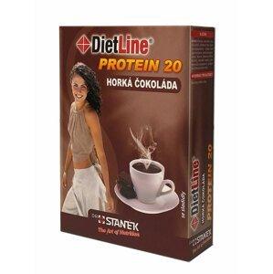DietLine Protein 20 Horká čokoláda 3 sáčky