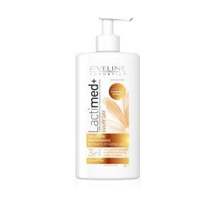 Eveline LactiMED+ jemný osvěžující intimní gel 3v1 250 ml