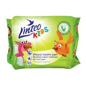 Linteo Kids Vlhčený toaletní papír pro děti 50 ks