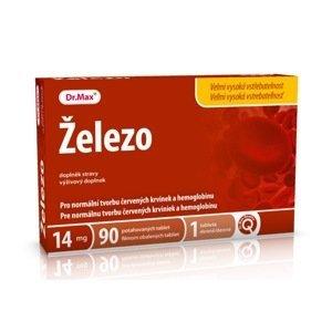 Dr.Max Železo 90 tablet