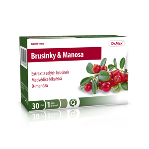 Dr.Max Brusinky a Manosa 30 tablet