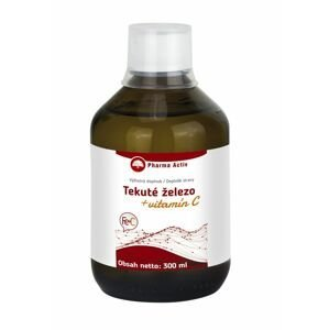 Pharma Activ Tekuté železo + vitamín C 300 ml