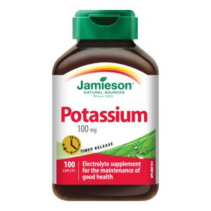 Jamieson Draslík s postupným uvolňováním 100 mg 100 tablet