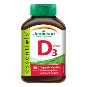 Jamieson Vitamín D3 400 IU 90 tablet