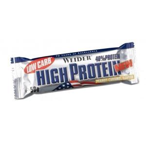 WEIDER Low Carb High Protein chocolate tyčinka 50 g