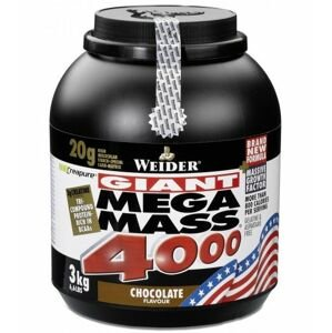 WEIDER Giant Mega Mass 4000 strawberry 3000 g