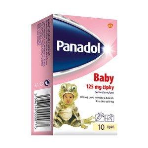 Panadol Baby 125 mg čípky 10 ks