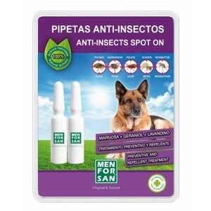 Menforsan Antiparazitní pipety klíšťata blechy komáři 2x1,5 ml