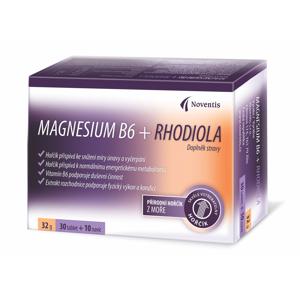 Noventis Magnesium B6 + Rhodiola 30+10 tablet