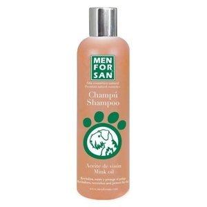 MenForSan Ochranný šampon s norkovým olejem pro psy 1000ml