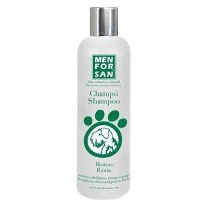 Menforsan Vyživující přírodní šampon pro psy s biotinem 300 ml