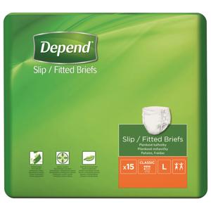 Depend Slip Classic L inkontinenční kalhotky 15 ks