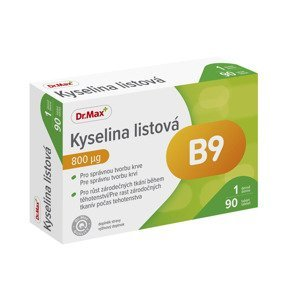 Dr.Max Kyselina listová 800 µg 90 tablet