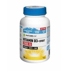 NatureVia Vitamin D3-Efekt 2000 IU 90 tablet