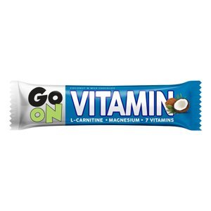 GO ON! Vitaminová tyčinka kokos L-carnitin 50 g