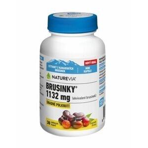 Swiss NatureVia Brusinky 1132 mg 30 kapslí