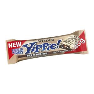 WEIDER Yippie! Bar Triple Chocolate tyčinka 45 g