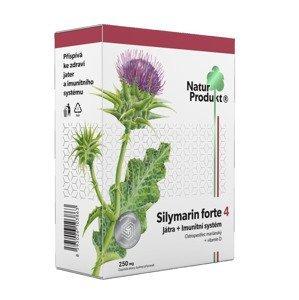 Naturprodukt Silymarin forte 4 Játra + Imunitní systém 40 tablet