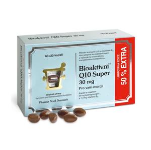 Bioaktivní Q10 Super 30 mg 60 kapslí + 50 % EXTRA