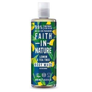 Faith in Nature Sprchový gel Citrón & Tea Tree 400 ml