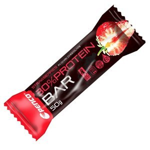 Penco Protein bar jahoda v hořké čokoládě 50 g
